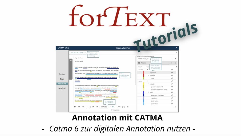 CATMA Runthrough Video Tutorial